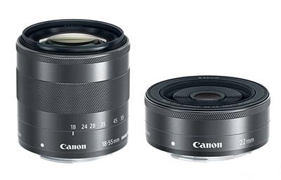 Objetivos para la Canon EOS M