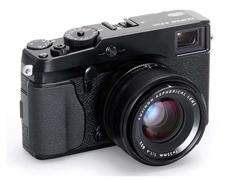 Fujifilm X-Pro1 con un objetivo de 35mm