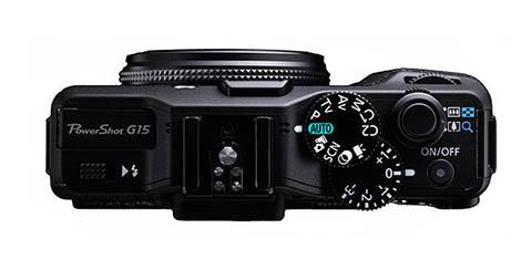 La cámara Canon Poweshot G15 dispone de diferentes diales de control
