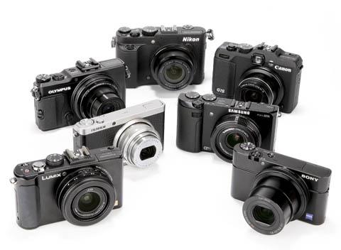 Las nuevas generaciones de cámaras compactas tienen cada vez mejores prestaciones