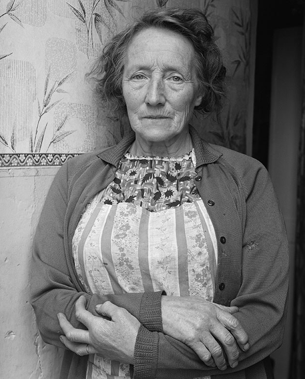 Mrs. Pitt, Slieu Whuallian, Glenfaba. Serie: Isle of Man (1970-1973) © Chris Killip