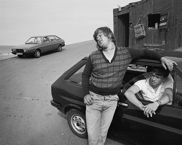 Bever, Skinningrove, North Yorkshire. Serie: Skinningrove (1981-1983) © Chris Killip
