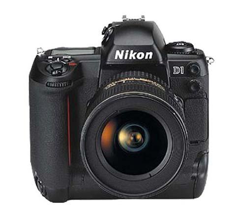 La Nikon D1 fue la primera cámara réflex digital puesta a la venta por el fabricante Nikon