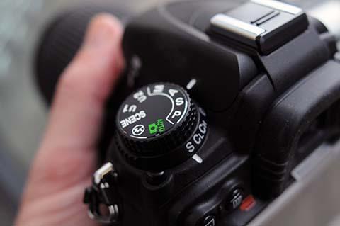 Todas las cámaras réflex disponen de un dial que permite seleccionar el modo de exposición