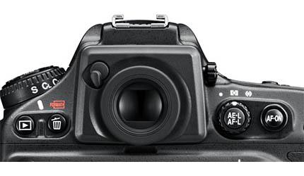 Visor de la cámara Nikon D800