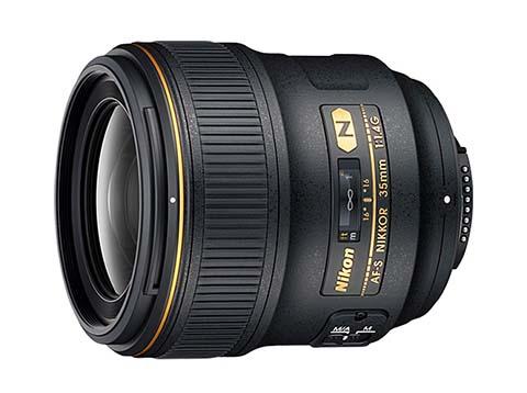Objetivo gran angular Nikon 35mm f/1.4G