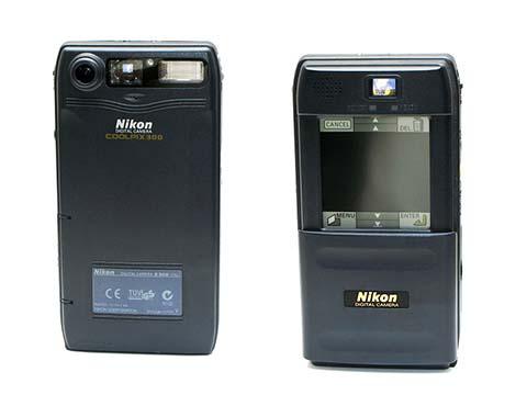 La Nikon Coolpix 300 fue la primera cámara compacta puesta a la venta por Nikon