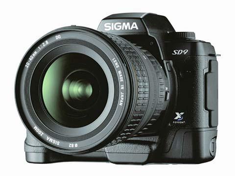 La Sigma SD9 fue la primera cámara réflex digital puesta a la venta por el fabricante Sigma