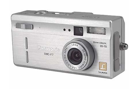 La Panasonic Lumix DMC-F7 fue la primera cámara compacta puesta a la venta por Panasonic
