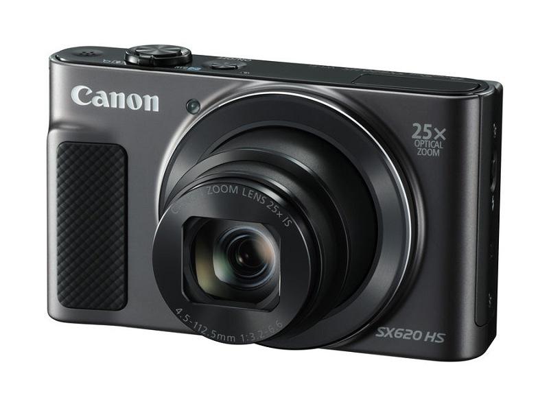 La Canon PowerShot SX620 HS, anunciada en mayo de 2016, es la última cámara añadida a esta comparativa