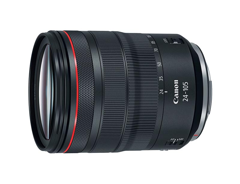 Canon RF 24-105mm F4L IS USM. Ficha Técnica