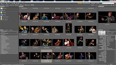 Adobe Bridge es el software de gestión de imágenes que acompaña al excelente Photoshop