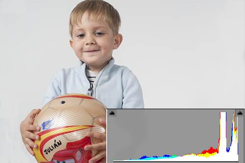Una imagen en clave alta tiene la mayoría de los píxeles a la derecha del histograma