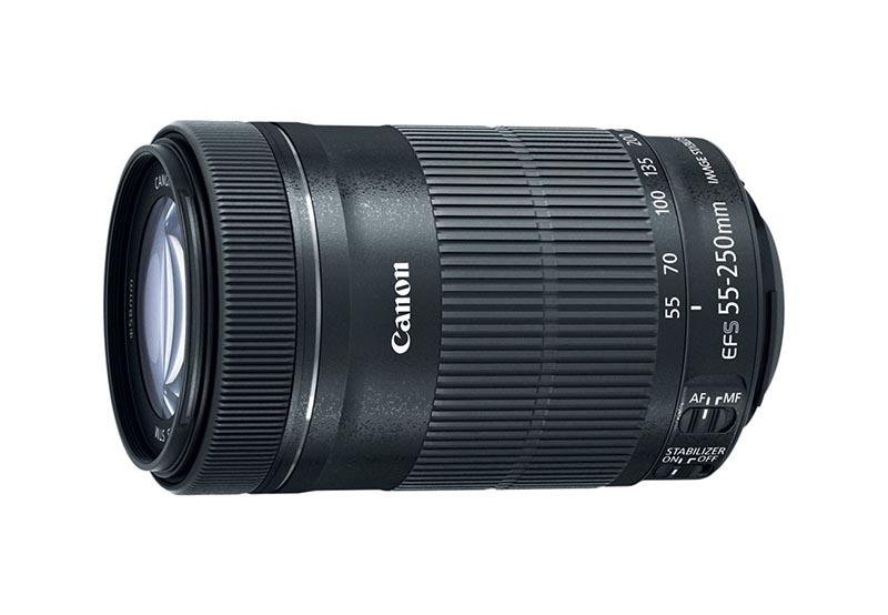 EF-S 55-250mm f/4-5.6 IS STM
