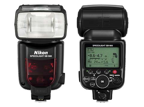 El Flash portátil Nikon SB-900 tiene un número guía 34