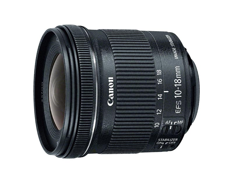 EF-S 10-18mm f/4.5–5.6 IS STM