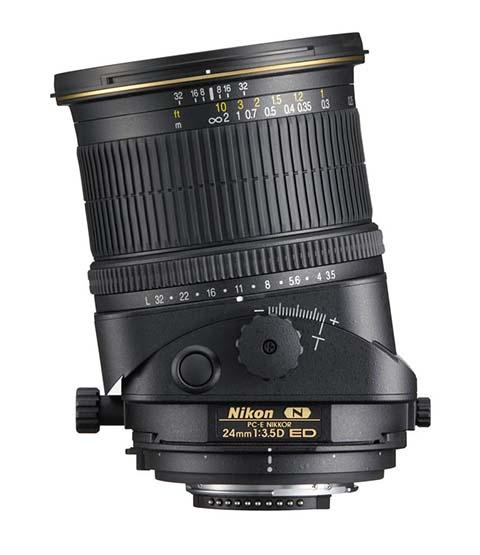 Objetivo descentrable PC-E Nikkor 24mm F3.5D ED