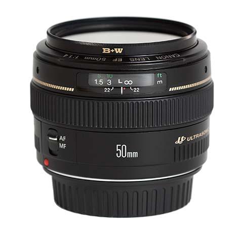 Objetivo Canon EF 50mm f/1.4 USM