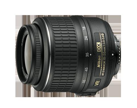 Objetivo zoom AF-S DX Nikkor18-55mm f/3.5-5.6G VR