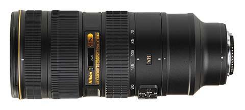 Objetivo AF-S Nikkor 70-200mm f/2.8G ED VR II