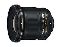 Nikon AF-S Nikkor 20mm f/1.8G ED. Ficha Técnica