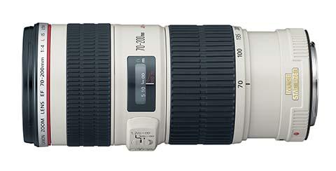 Objetivo Canon EF 70-200mm f/4 IS USM Zoom Lens