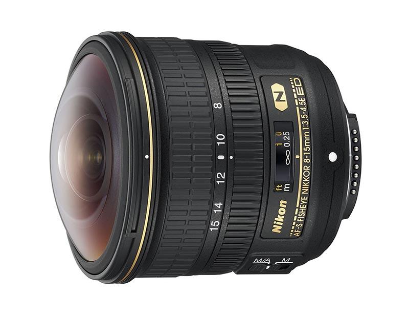 AF-S Nikkor Fisheye 8-15mm F3.5-4.5E ED