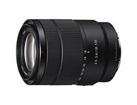 Sony E 18-135mm F3.5-5.6 OSS. Ficha Técnica