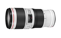 Canon EF 70-200mm F4L IS II USM. Ficha Técnica