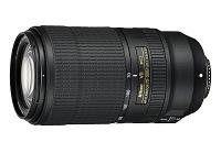 Nikon AF-P Nikkor 70-300mm F4.5-5.6E ED VR. Ficha Técnica