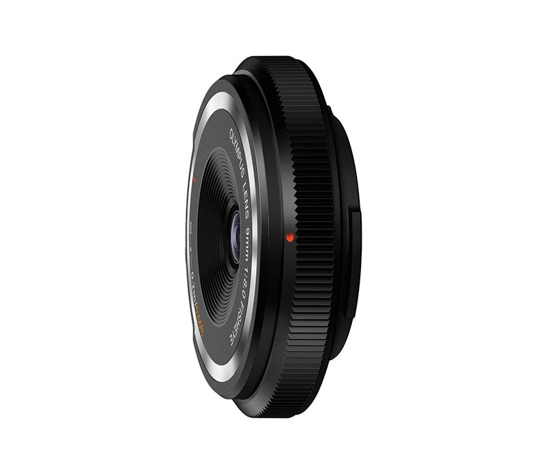 9mm F8 Fish-Eye Body Cap Lens