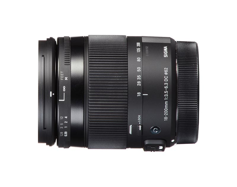 18-200mm F3.5-6.3 DC Macro OS HSM | Comtemporary