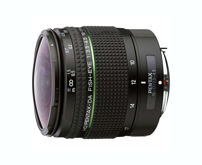 HD DA Fisheye 10-17mm F3.5-4.5 ED