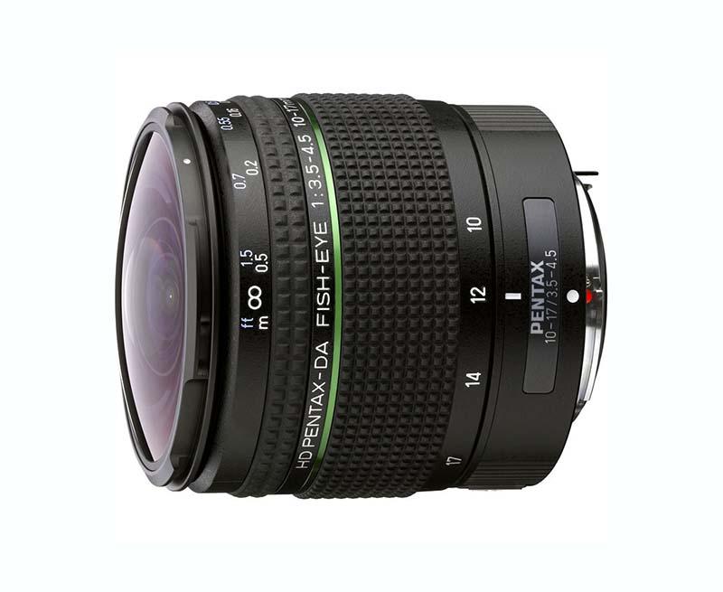 HD DA Fisheye 10-17mm F3.5-4.5 ED