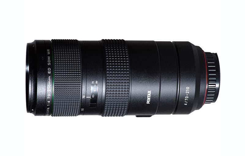 HD PENTAX-D FA 70-210mm F4 ED SDM WR