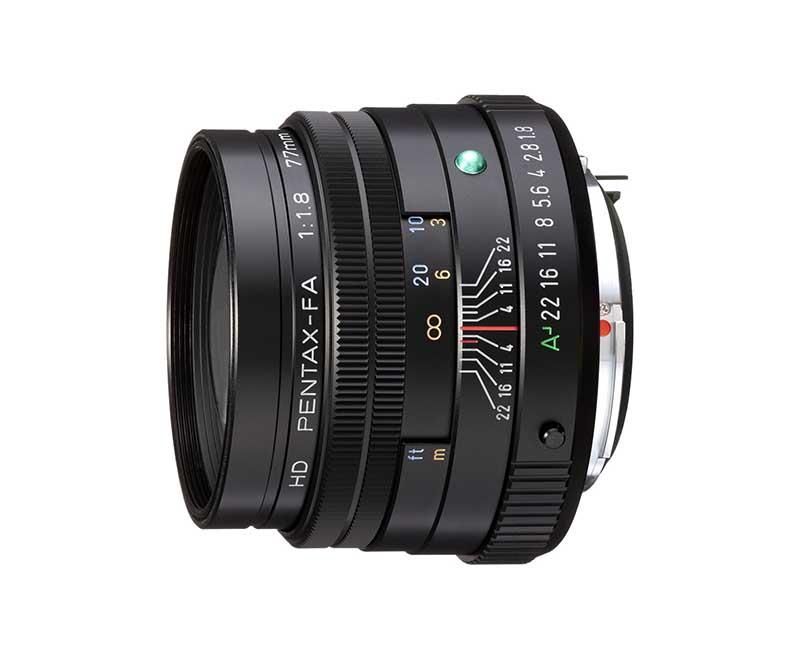 HD-FA 77mm F1.8 Limited